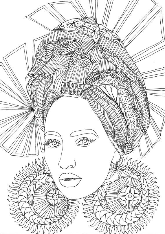 Adult Coloring Book, Printable Coloring Pages, Coloring Pages ...