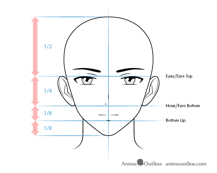 How To Draw Male Anime Characters Step By Step Animeoutline Guy Drawing Anime Character Drawing Anime Male Face