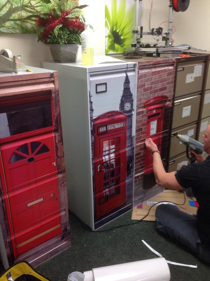 upcycle your old filing cabinets, vinyl wrap #filingcabinet ...