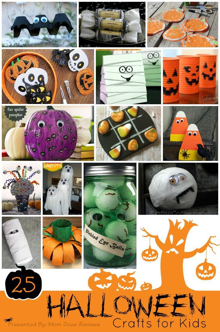 25 Halloween Crafts Kids Can Do Diy Halloween Crafts