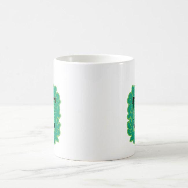 Cartoon Slytherin Crest Coffee Mug | Zazzle.com #disneycoffeemugs