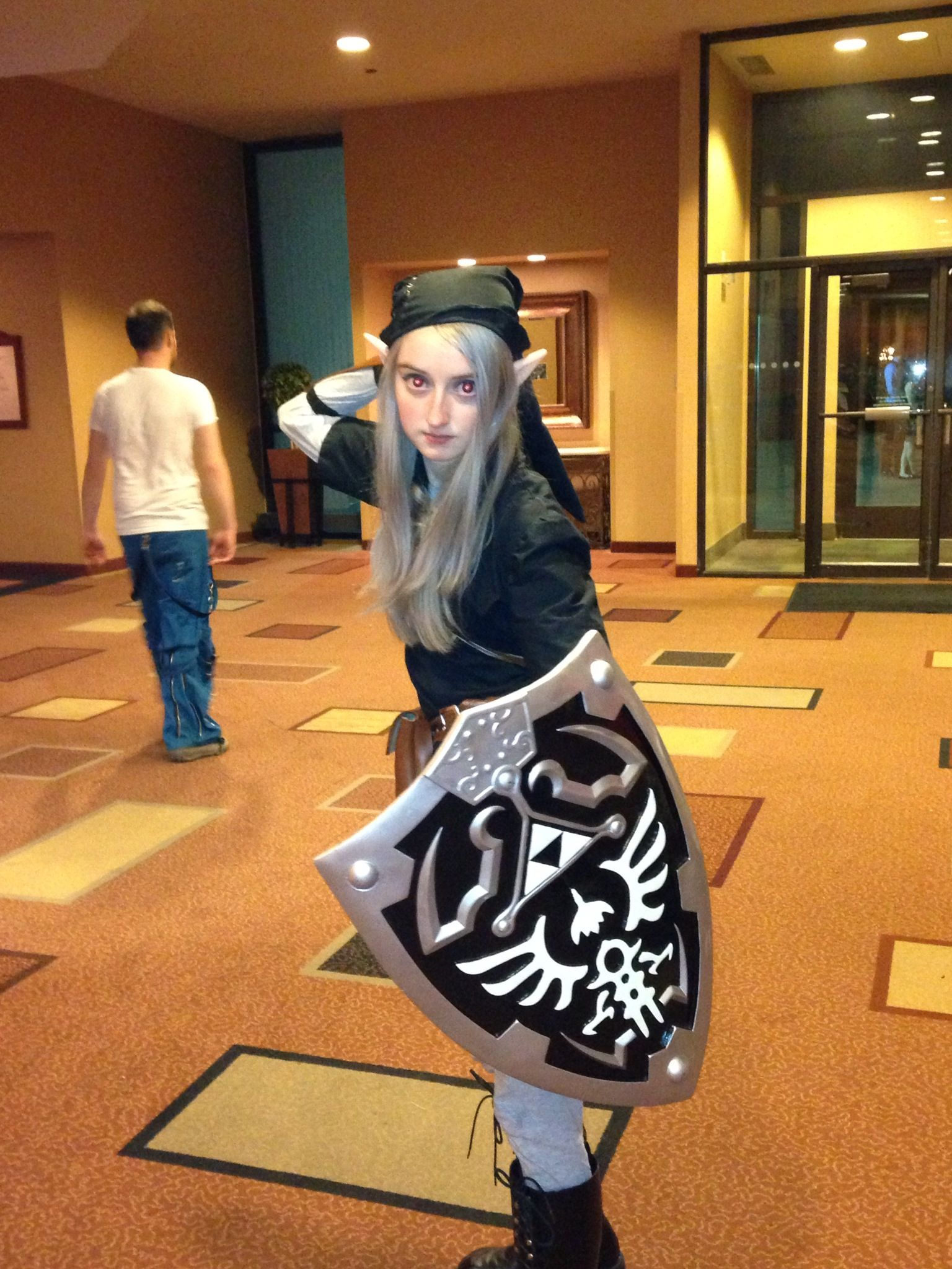 Link from Zelda at Metacon in Mpls 2013. Amazing costume!