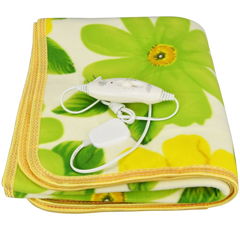 Atwfs 보안 싱글 침대 봉제 전기 가열 담요 전기 난방 담요 침대 ...