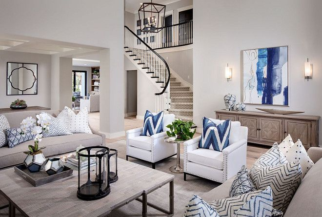 The Formal Living Room Features A Beautiful Color Palette And A Soothing Wall Color The Paint Formal Living Room Decor Bright Living Room Formal Living Rooms
