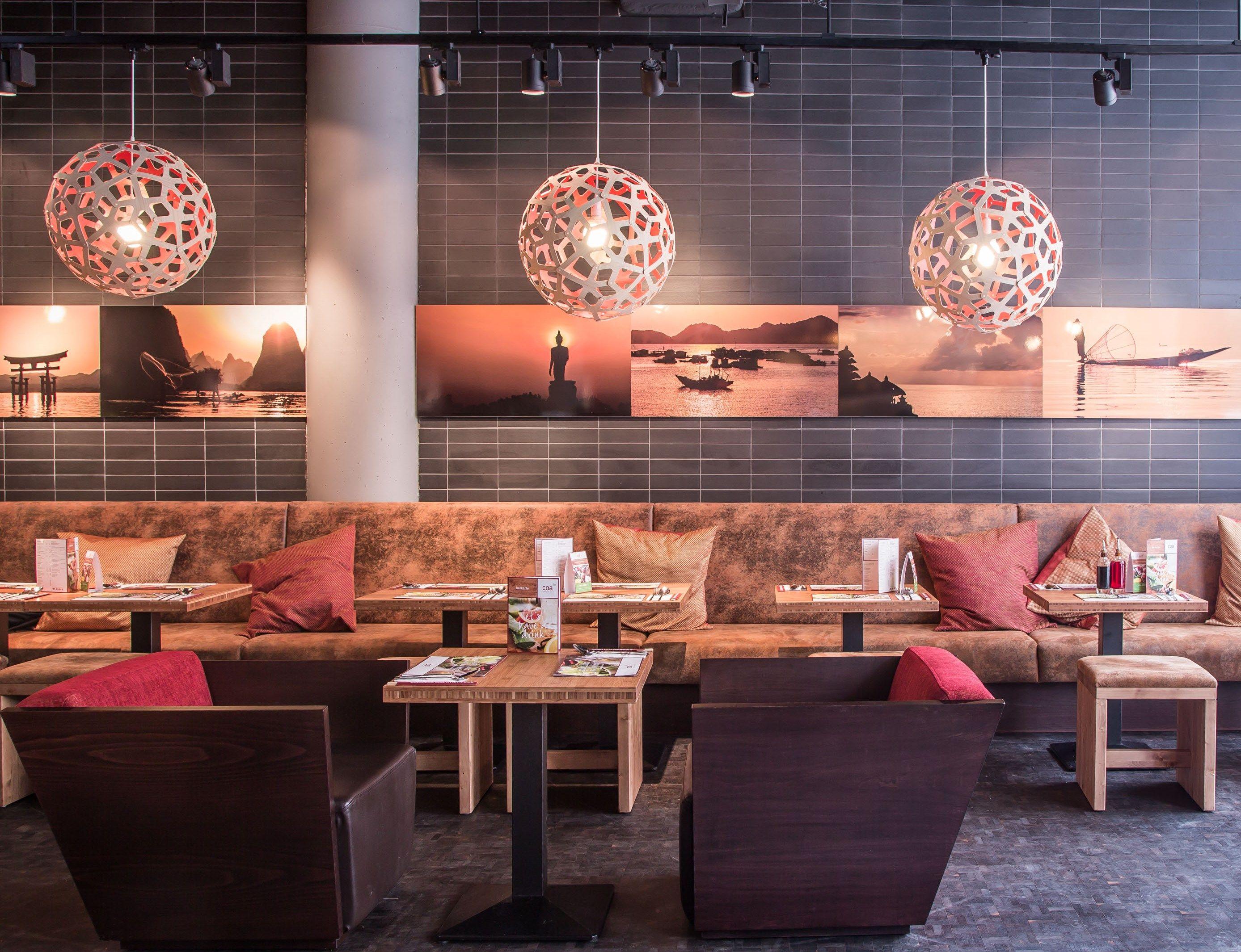 coa asian food & bar. asian inspired interior design. stuttgart. www ...