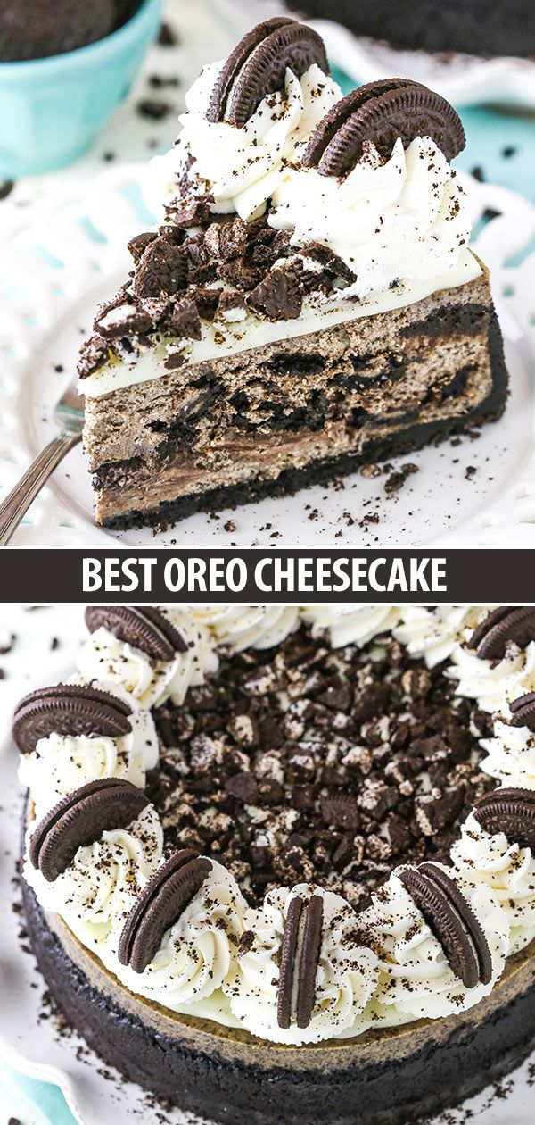 Best Oreo Cheesecake #cheesecakes
