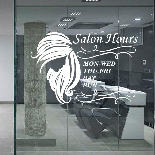 Wall Decal Decor Decals Art Hair Salon Beauty Hairstyle