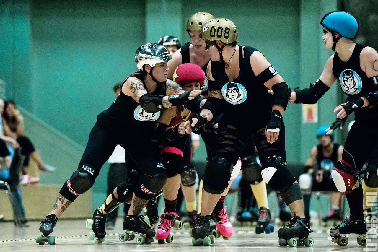 Copenhagen Roller Derby – Kick Ass Cuties vs. Roller Derby Metz Club, June 19th 2013 #rollerderby © 2013 Peter Troest. All rights reserved.
