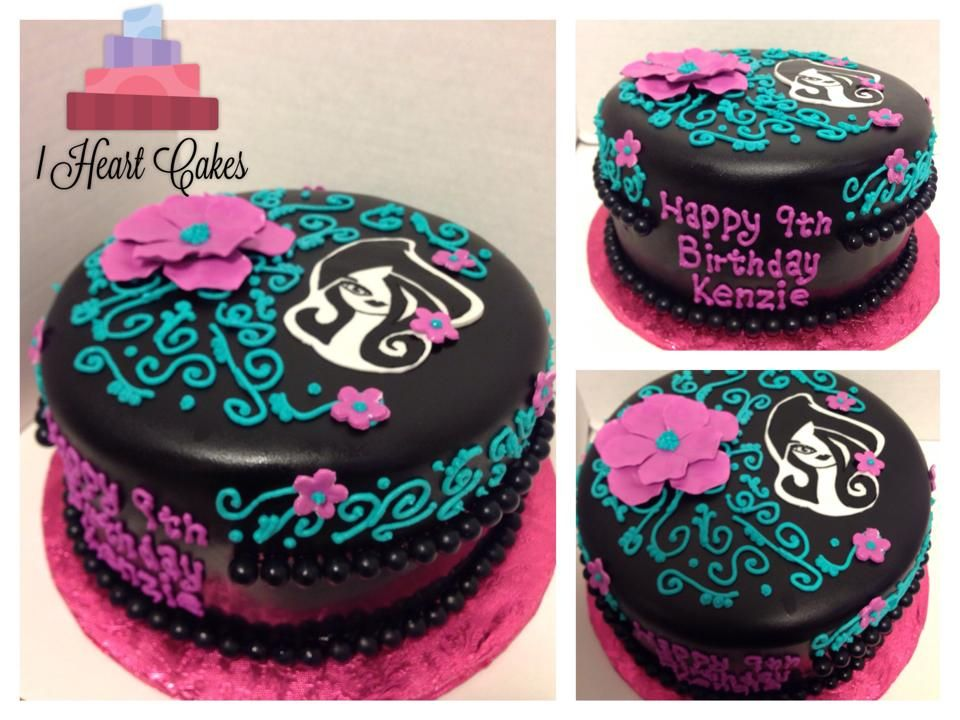 Ever After High Cake I Heart Cakes