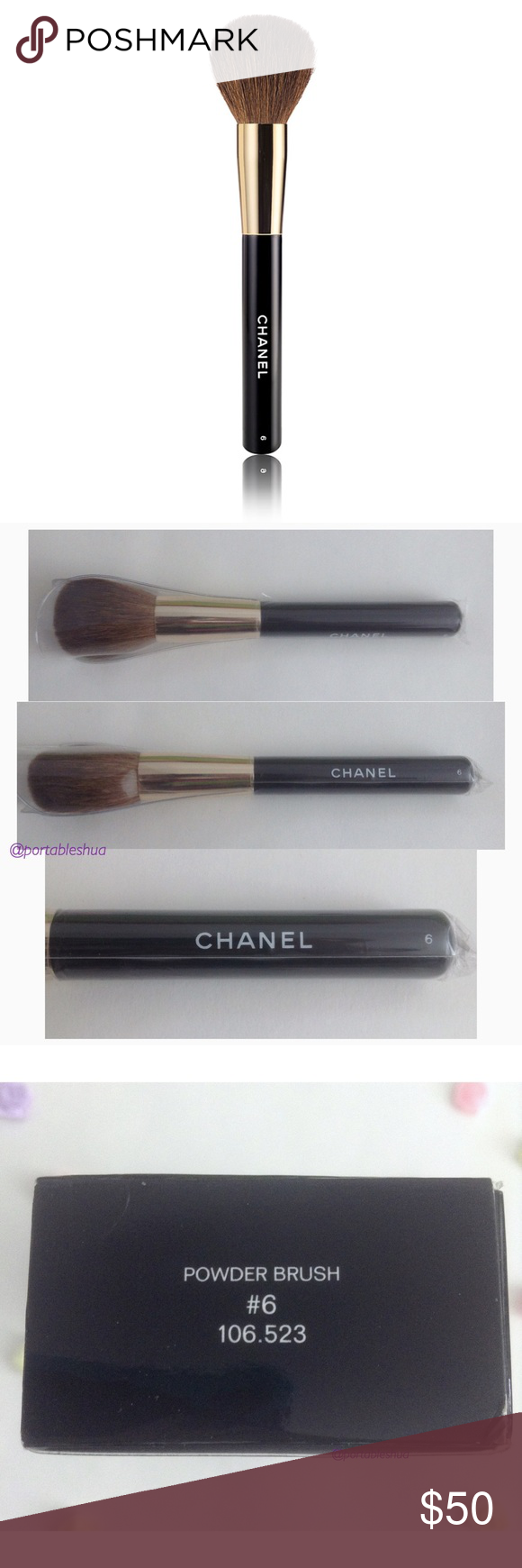 55fd2bebb0 HP! NWT - Chanel Le Pinceau Poudre Powder Brush #6 ! HOST PICK FOR ...
