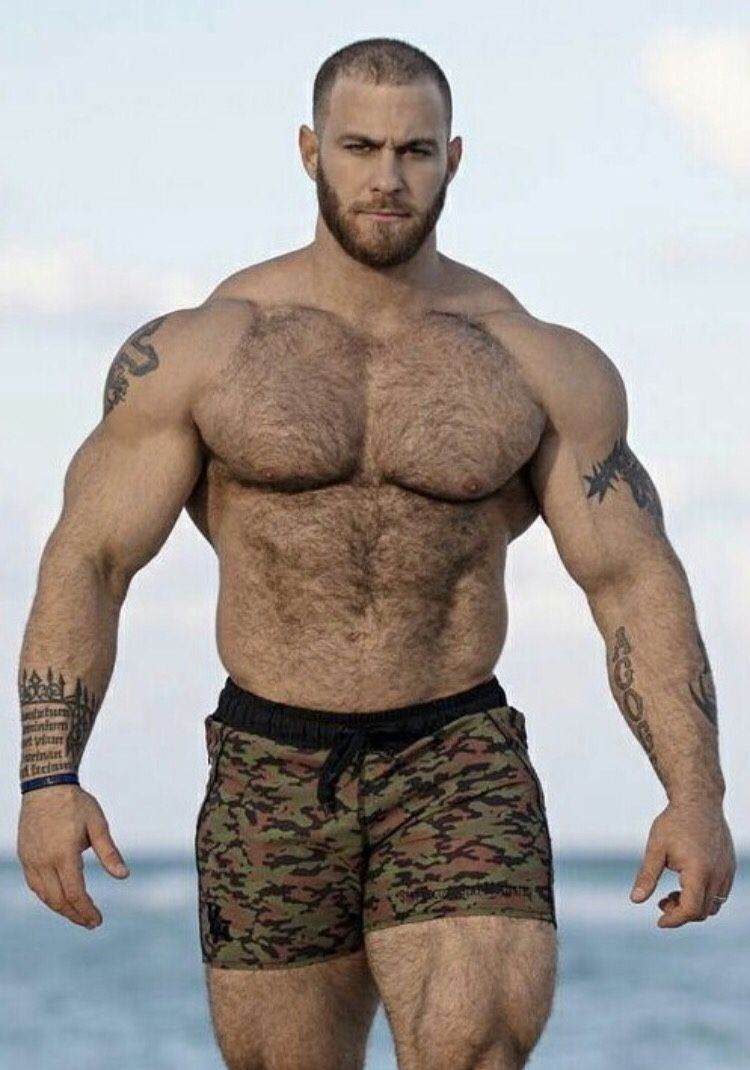 Men hairy muscle MEN2MEN •