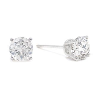 c5cc6e8d1 Can't beat the prices of jewelry at SuperJeweler! (oh, and free shipping)  3/4ct Diamond Stud Earrings in 14k White Gold, I/J, I2