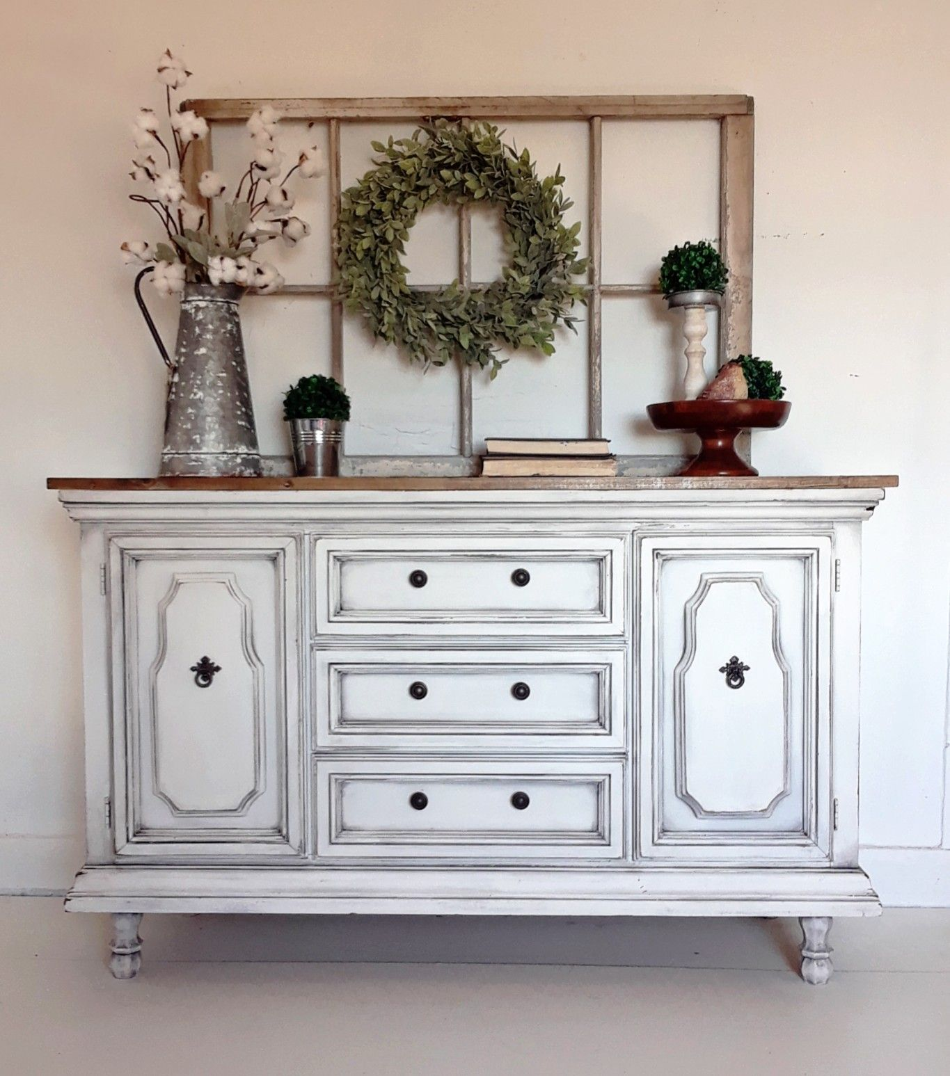 Pin By Angela Lynn Hagood On Refinished Furniture Buffet Table Decor Buffet Decor Repurposed China Cabinet