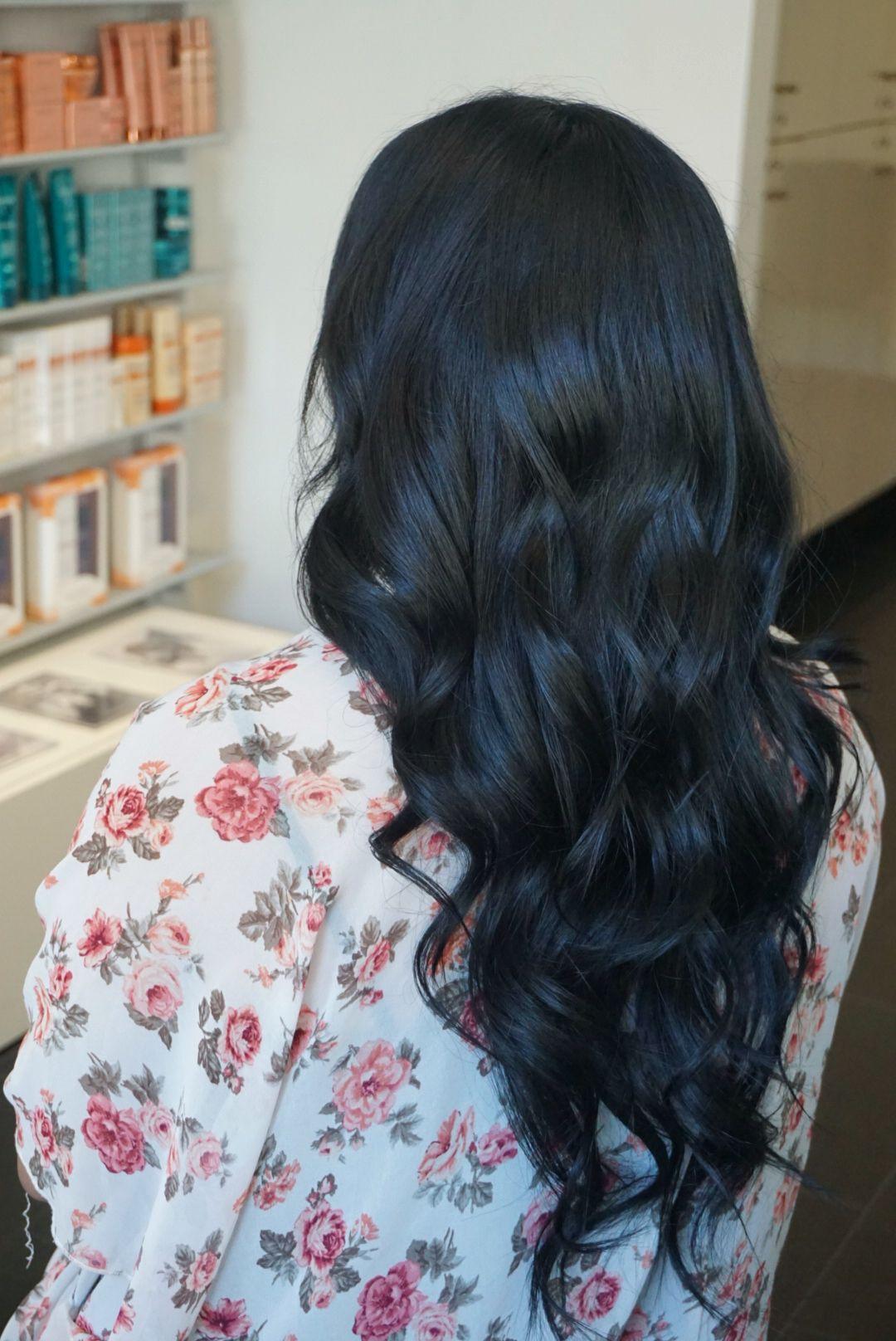 Blue black ash brown haircolor pinterest ash brown blue and black