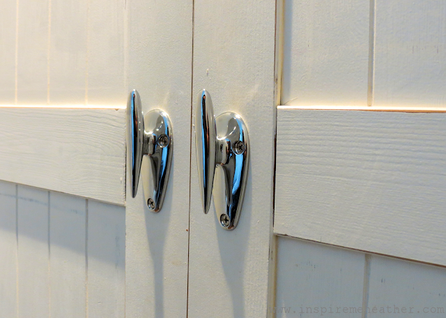 Using Boat Cleats As Cabinet Handles Inspire Me Heather Blog