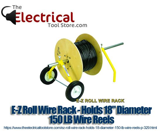 E-Z Roll Wire Rack - Holds 18\