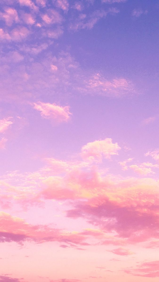 Free mobile wallpaper background iPhone and android cloudy sky aesthetic