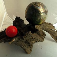 sculpture bois flott et sph res c ramique raku boules poterie boules pinterest raku. Black Bedroom Furniture Sets. Home Design Ideas