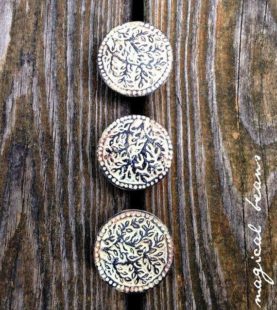 Decorative Knobs Rustic Drawer Pulls Farmhouse By MagicalBeansHome