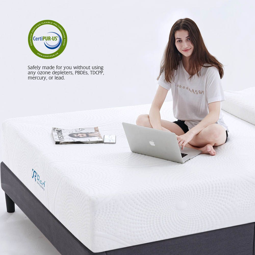 Classic Brands Cool Gel And Ventilated Memory Foam 12 Inch Mattress Certipur Us Certified Queen Home