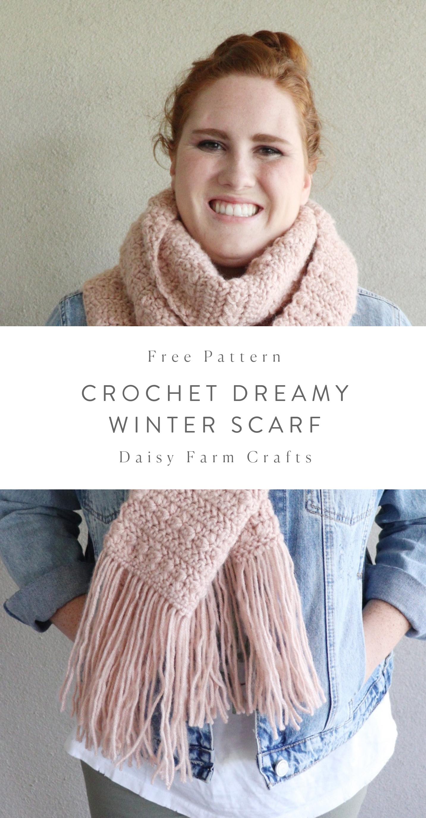 Free Pattern - Crochet Dreamy Scarf