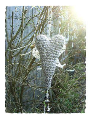 CadoohCrochet: Fliegende Herzen zum 3. Advent