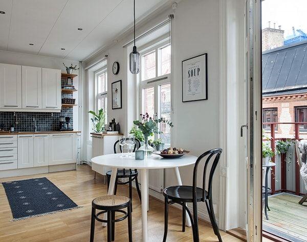 Cocinas abiertas para casas con estilo ideas para cocinas for Pequena cocina abierta al comedor
