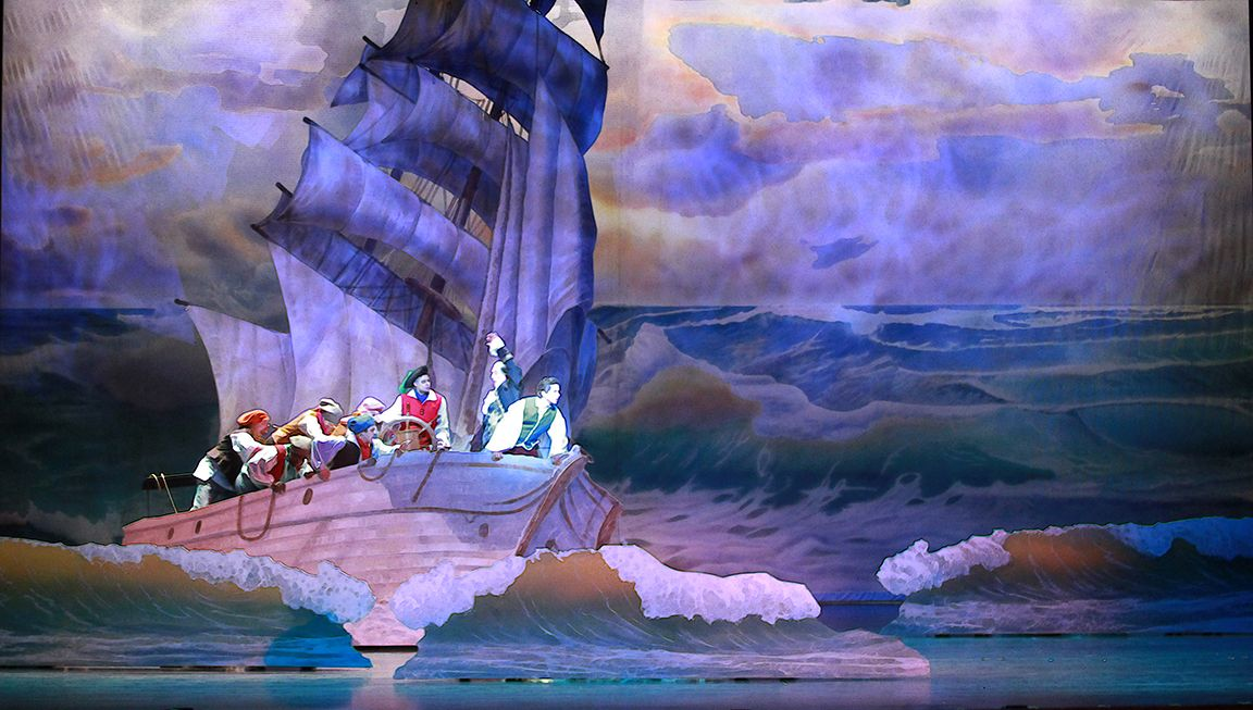 Pin By Matthew Condon On Set Design Ideas The Little Mermaid Musical Little Mermaid Play The Little Mermaid