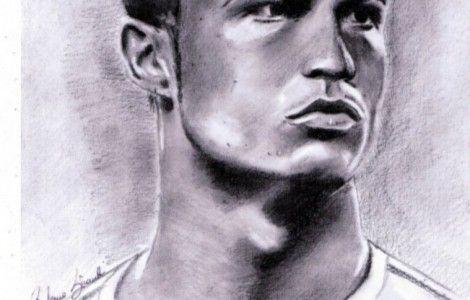 Cristiano Ronaldo New Coloring HD Wallpaper Desktop Pencil - new coloring pages ronaldo