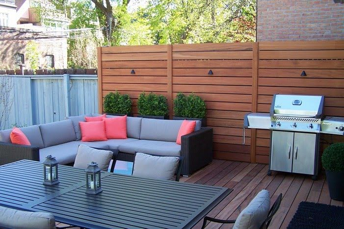 Love This Patio Setup To Create Privacy From The Neighbors On Top Deck