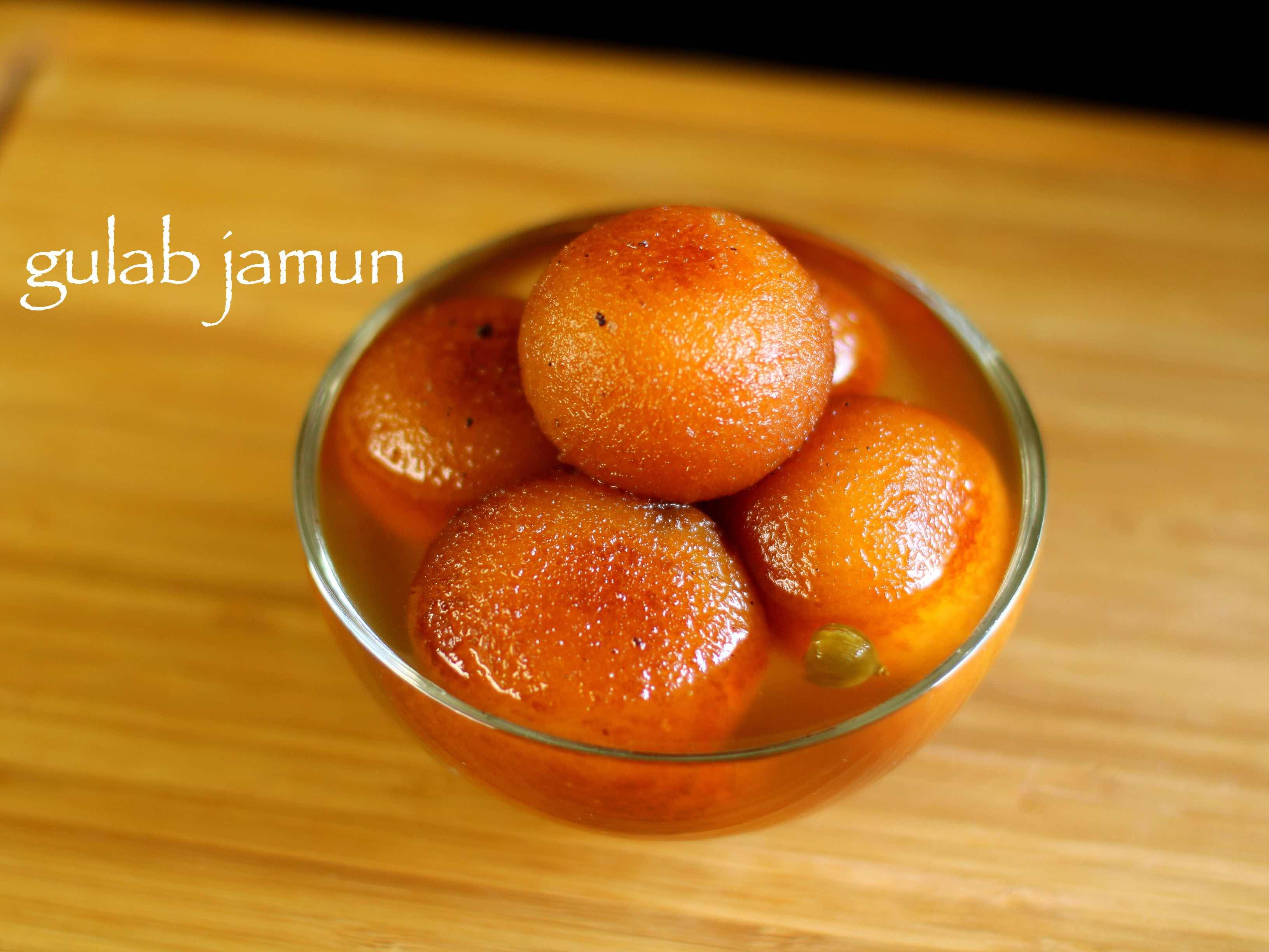 Gulab Jamun Recipe How To Make Gulab Jamun With Milk Powder Recipe Jamun Recipe Gulab Jamun Recipe Gulab Jamun