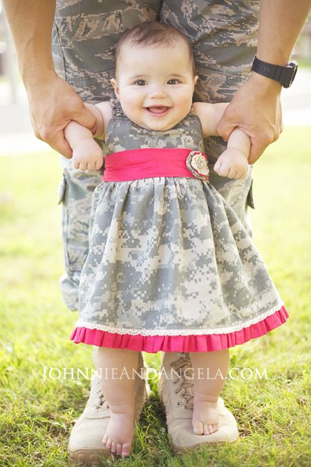 Johnnie and Angela: Baby Deployment Homecoming Dress #Deployment ...
