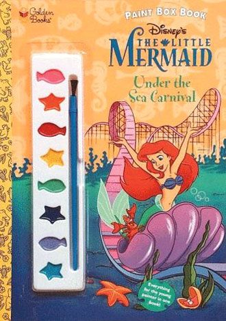 The Little Mermaid Paint Book MermaidLittle MermaidsColor ActivitiesActivity BooksDisney PrincessesColoring