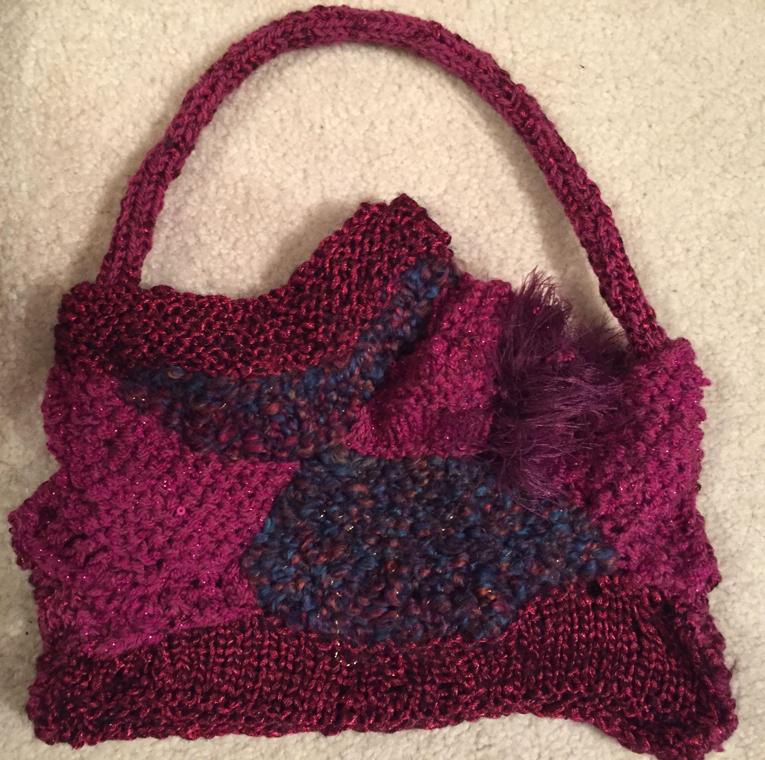 Freeform knitting, The Knitting Diva design | Diva design ...