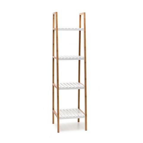 4 Tier Shelf With Bamboo Shelf   Kmart
