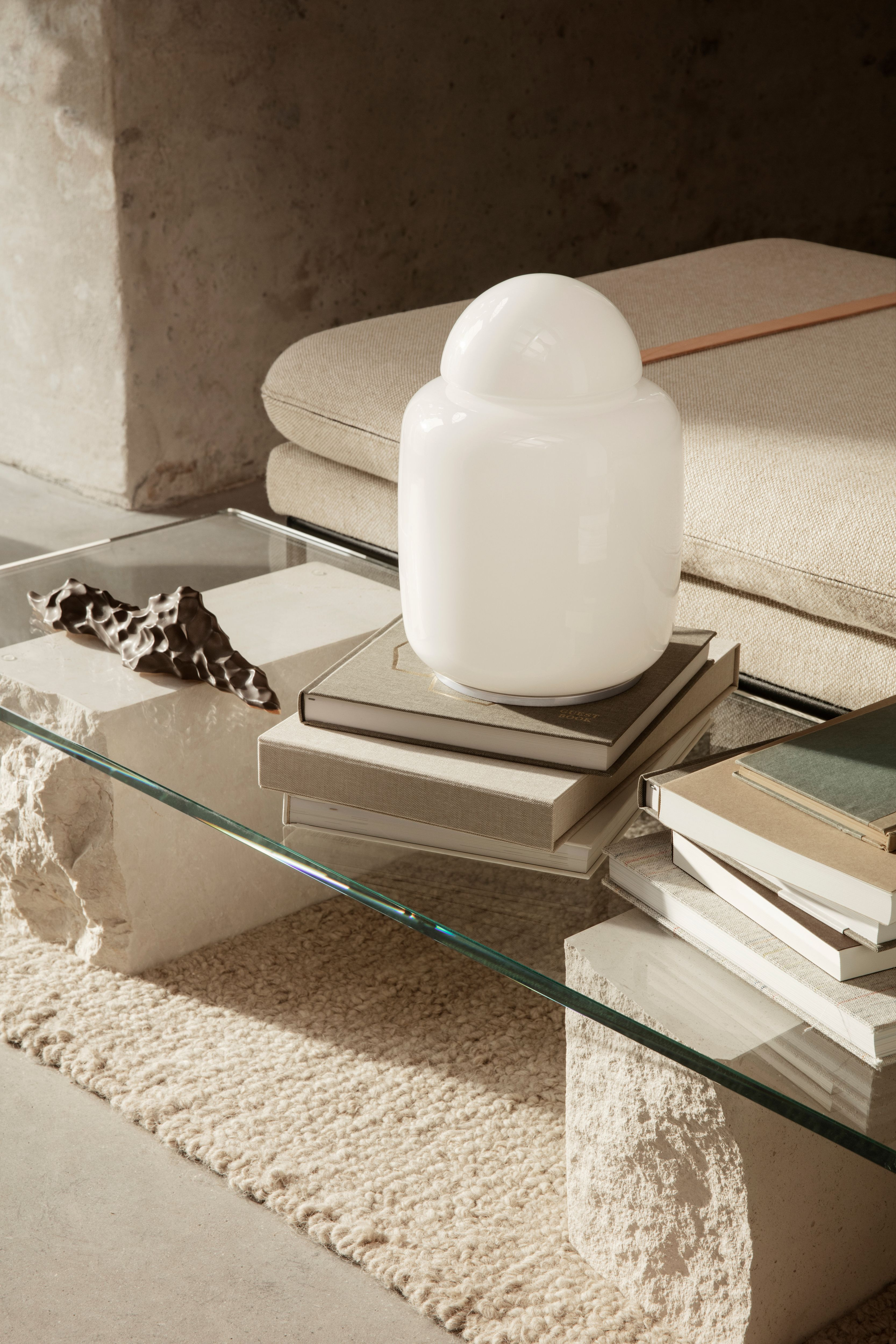 Mineral Coffee Table White Table Lamp Coffee Table Lamp Decor [ 5000 x 3333 Pixel ]