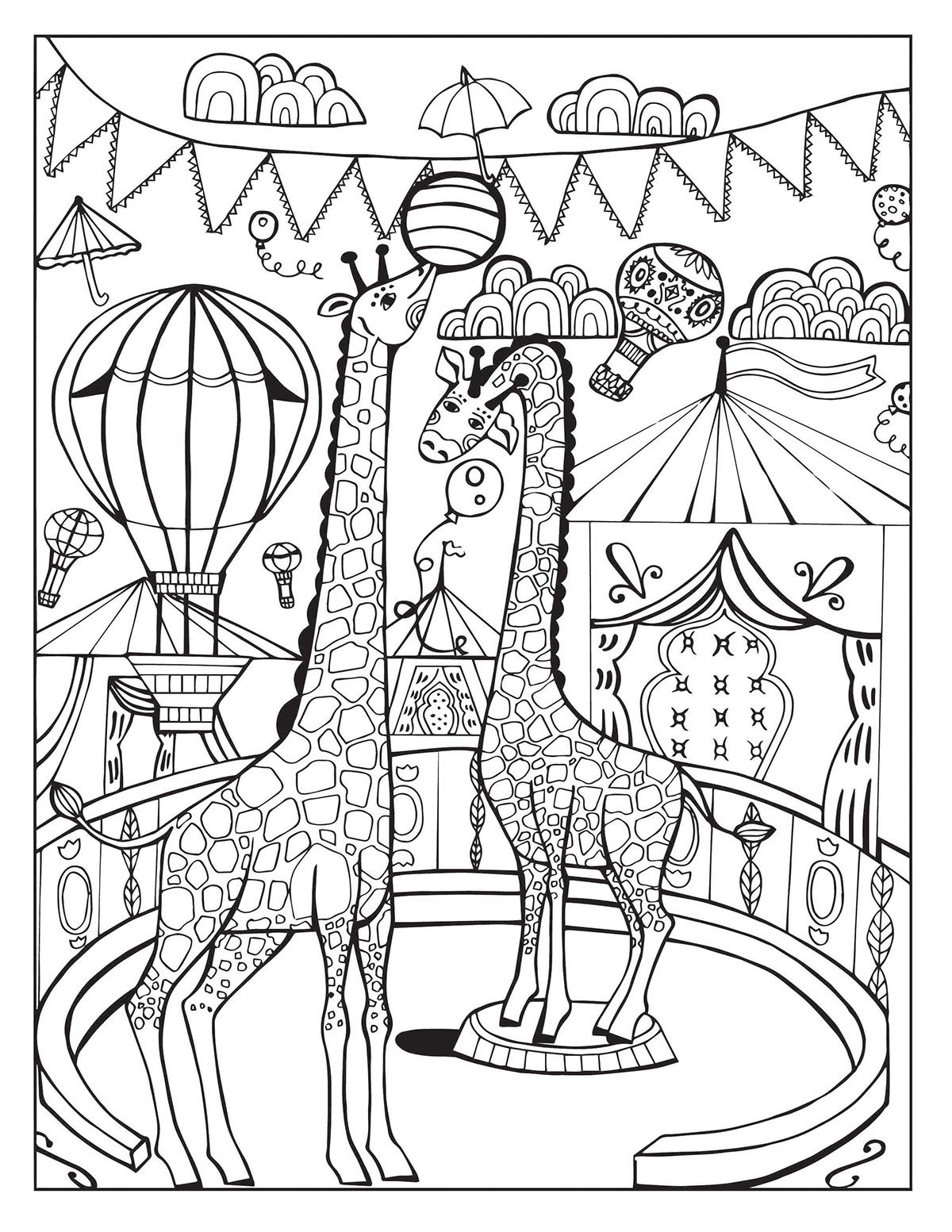 A Day At The Circus On Behance