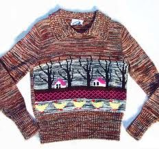 indie sweater - dorky nerd sweater