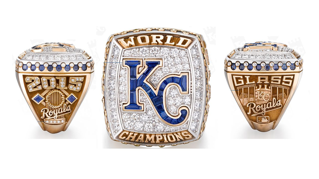 Royals Receive 2015 World Series Rings World Series Rings Championship Rings Mlb World Series