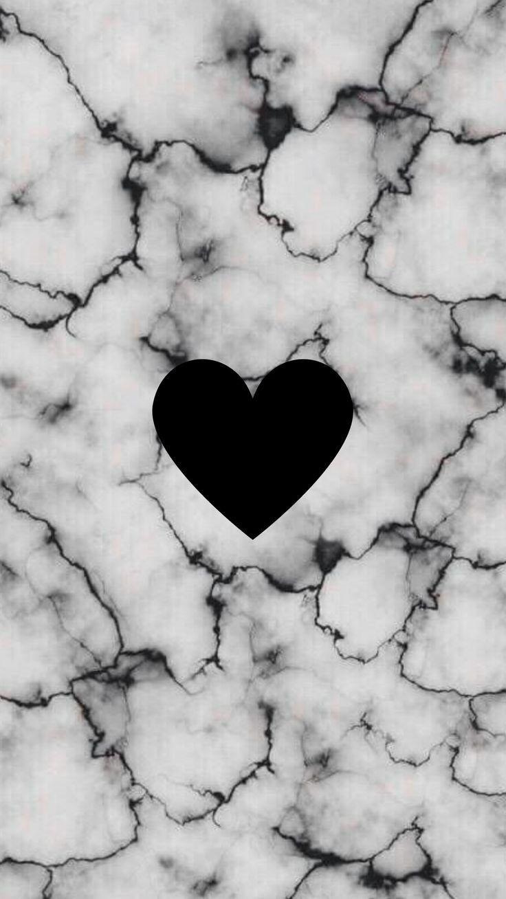 Fond décran marbre cœur