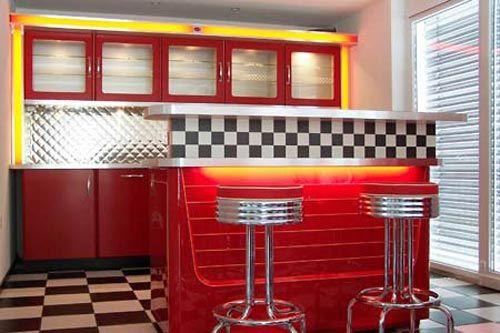 american diner living ideas pinterest. Black Bedroom Furniture Sets. Home Design Ideas