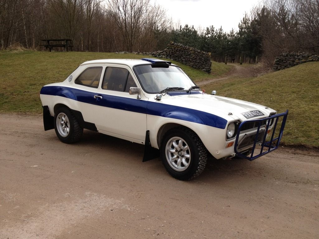 Ford Escort Mk1 rally car for sale 3 - East African Safari Classic ...