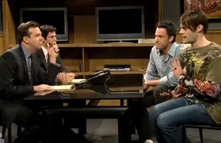 Ben Affleck Plays Stefon S Brother On Saturday Night Live Video Wetpaint Inc Saturday Night Live Ben Affleck Brother