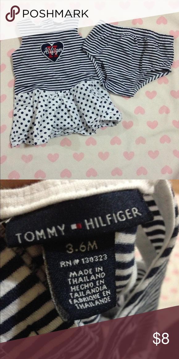 763c0a4b2 Baby Girl Dress Set • Tommy Hilfiger Dress • 3-6 months • Like new Tommy  Hilfiger Dresses Casual