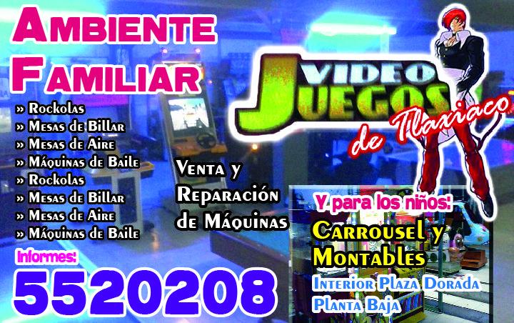Videojuegos en Tlaxiaco.
