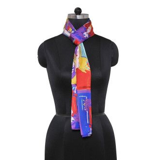 Polyster Multi Color #scarfforwomen @ Rs 599. limited Stock available. For more detail visit http://bit.ly/1Iq7S3c