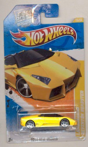 Hot Wheels 2011 23 240 Orange 2010 New Models Lamborghini Reventon