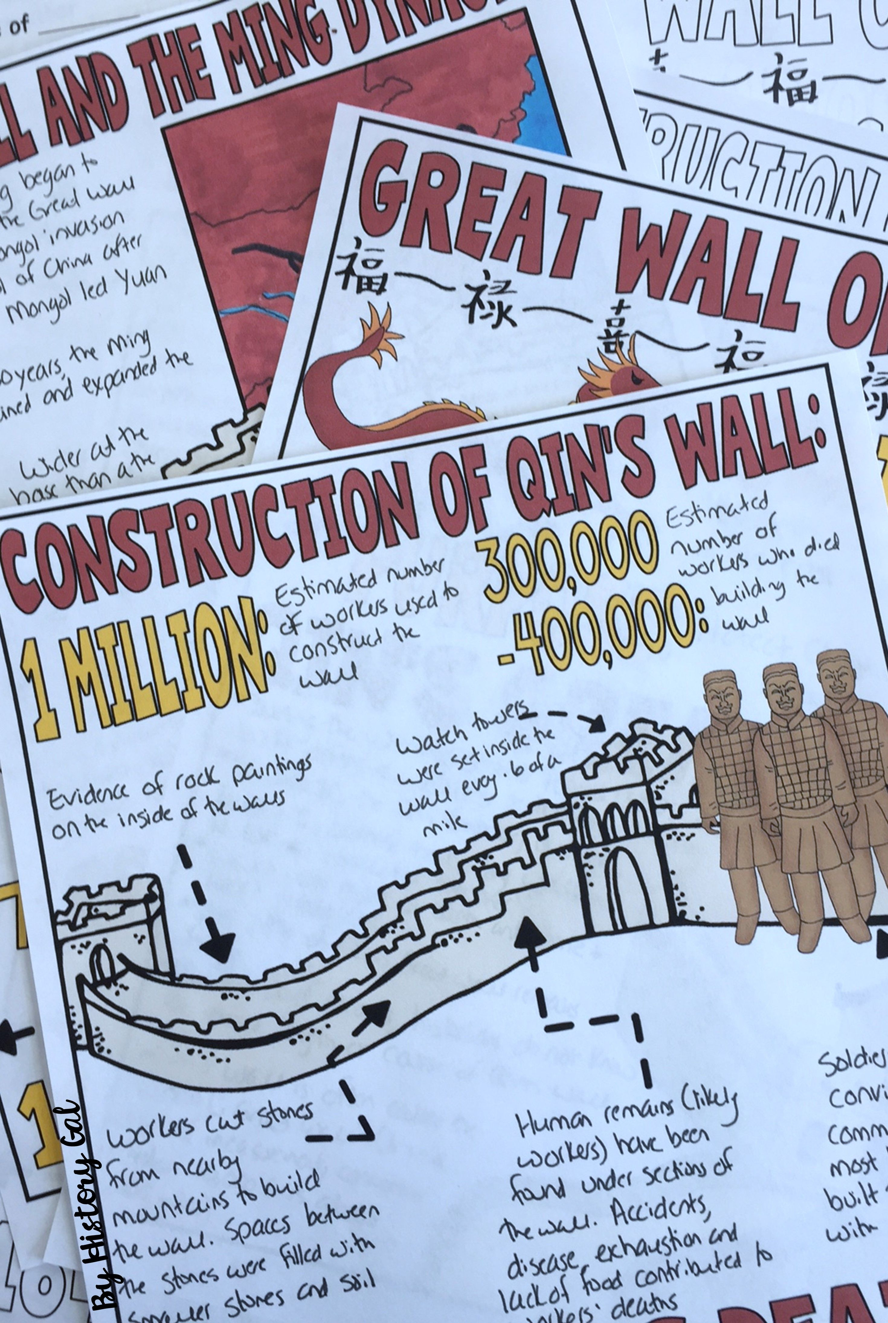 Great Wall Of China Graphic Notes