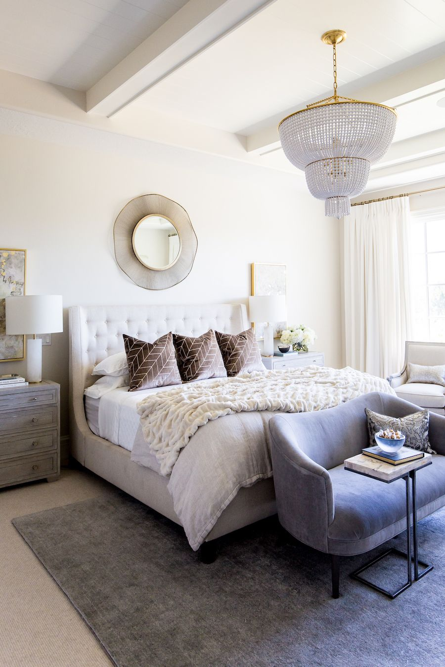 Crafting a Glamorous Master Retreat for a Twin Mama-to-Be | Glam ...