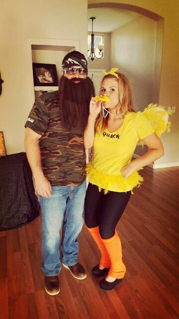 Halloween Couples Costume Duck Dynasty & Halloween Couples Costume Duck Dynasty | Halloween | Pinterest ...